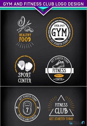 Gym-and-fitness-club-logo