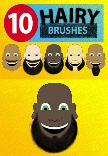 Hairy-Photoshop-Brushes