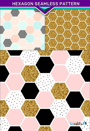 Hexagon-Seamless-Pattern