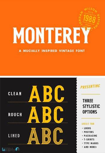 Monterey-Font