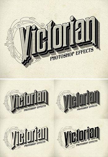 Photoshop-Victorian-Styles