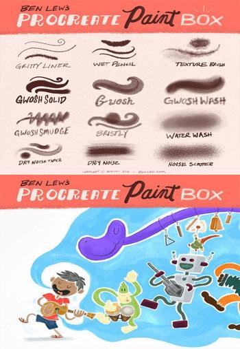 Procreate-Paint-Box