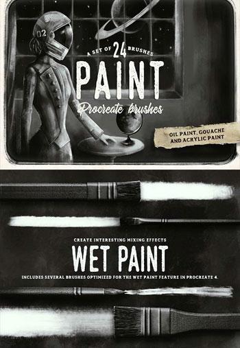 Procreate-paint-brushes