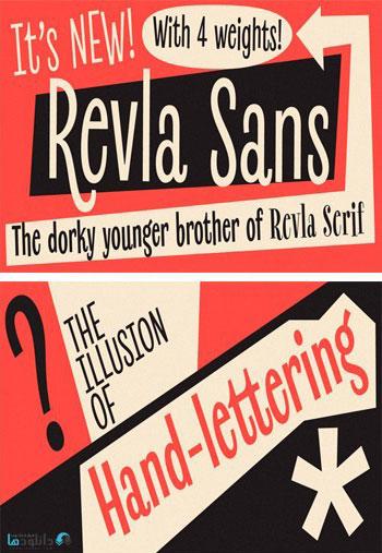 Revla-Sans-Font