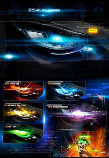 Rons-Sci-Fi-Optical-Flares