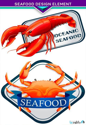 Seafood-design-element
