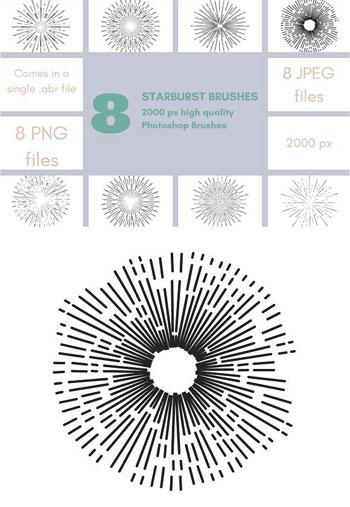 Starburst-Photoshop-Brushes