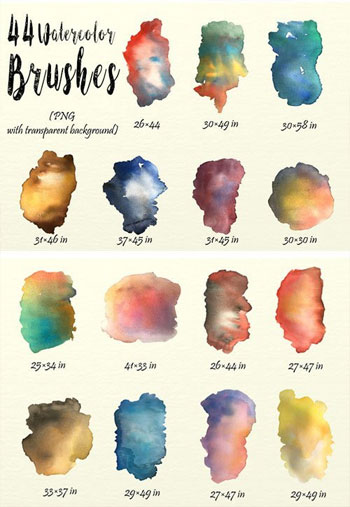 Watercolor-Brushes-Pack