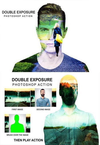 double-exposure-ps-action