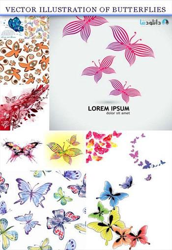 illustration-of-butterflies