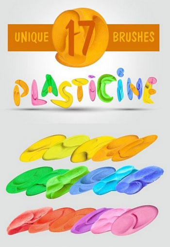plasticine-brushes