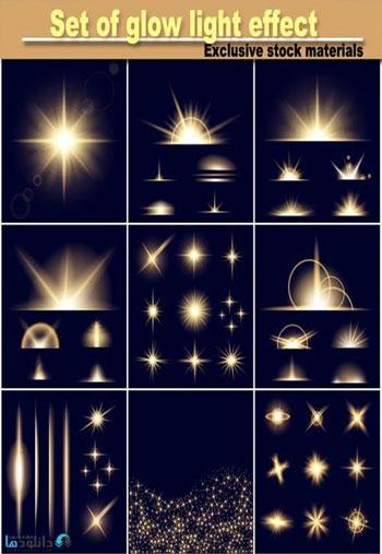 set-of-glow-light-effect