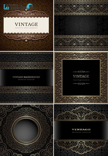 Decorative-Vector-Background-Vintage-Patterns