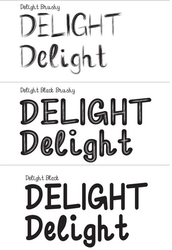 Delight-Font