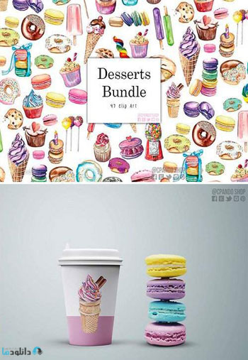 Dessert-bundle-watercolor