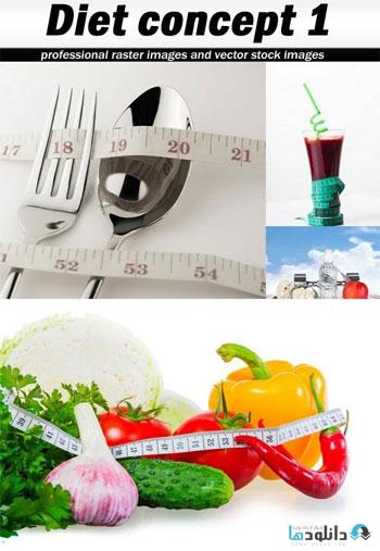 استوک-Diet-concept