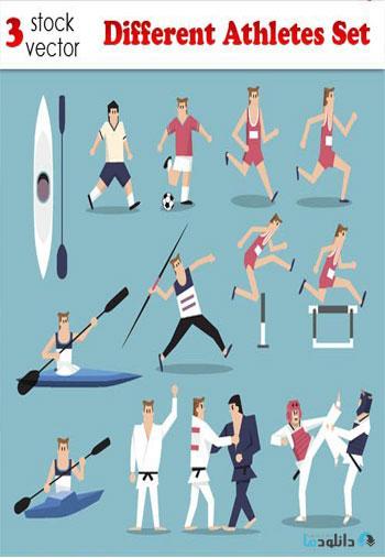 Different-Athletes-Set