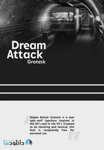 Dream-Attack-Grotesk-Font