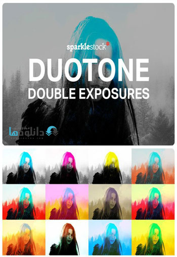 Duotone-Double-Exposures