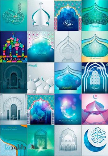 Eid-Mubarak-Papercut-Vector