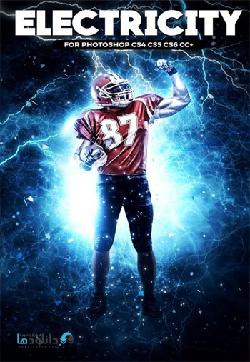 Electricity-Photoshop-Actio