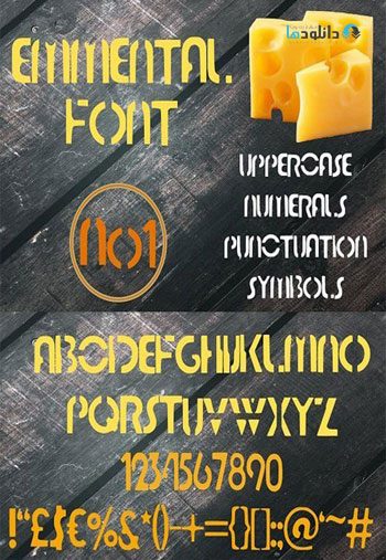 Emmental-Font