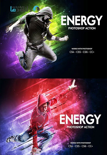 Energy-Photoshop-Action