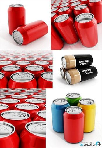 استوک-Energy-drink-can