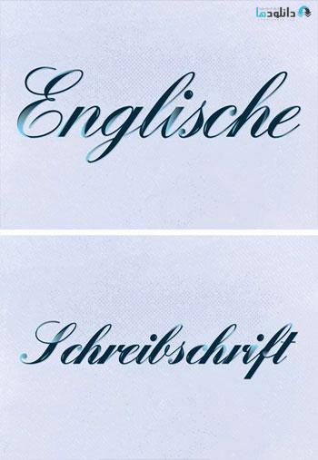 Englische-Schreibschrift-Font