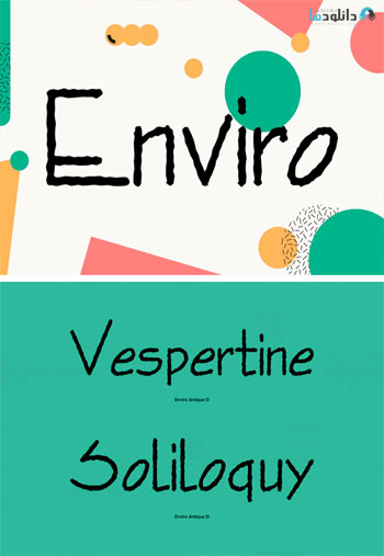 Enviro-Font