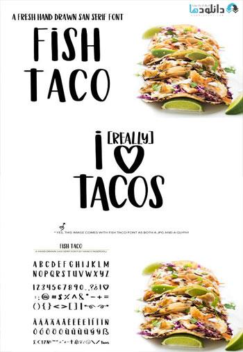 Fish-Taco-Font