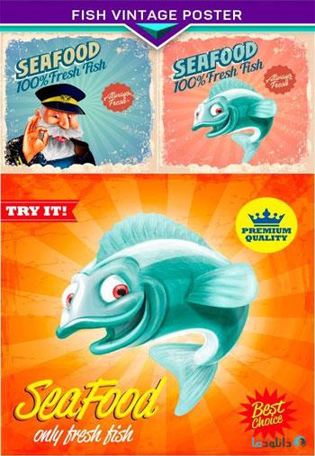 Fish-vintage-poster