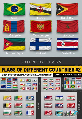 Flags-Of-Different-Countrie