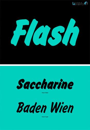 Flash-Font-Family