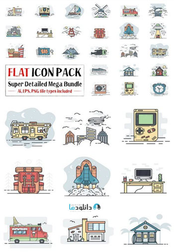 Flat-Icon-Pack