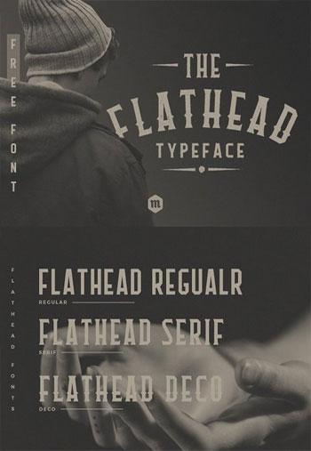Flathead-Typeface