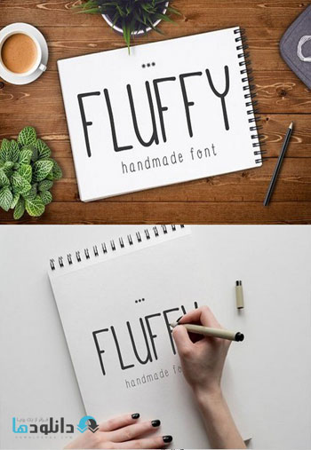 Fluffy-Font