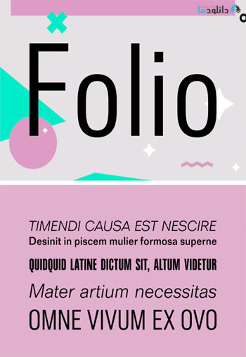 Folio-Font-Family