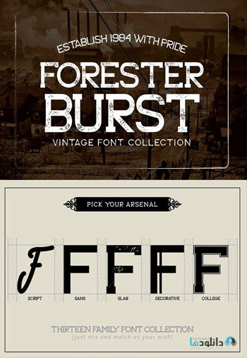 Forester-Font