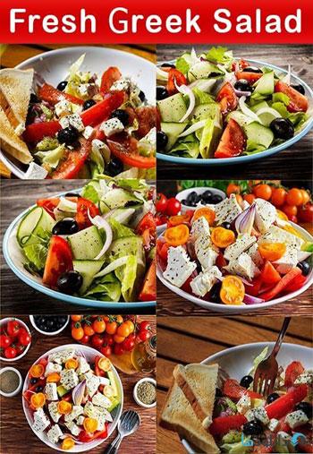 استوک-Fresh-Greek-Salad