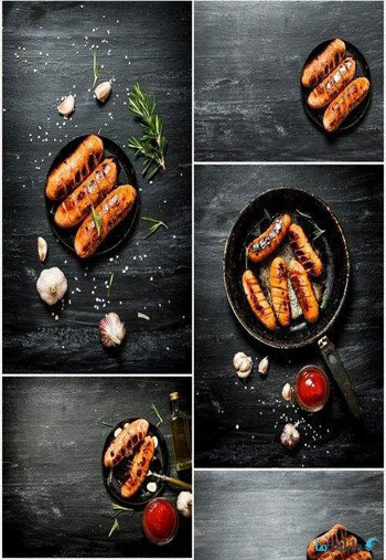 Fried-Grilled-Sausages