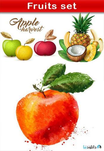 Fruits-set