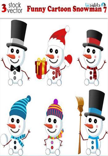 Funny-Cartoon-Snowman