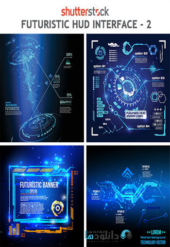 Futuristic-Hud-Interface-Vector