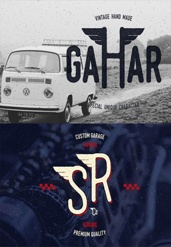 Gahar-Font