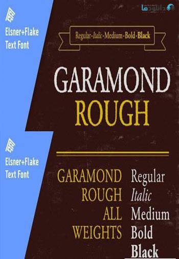 Garamond-Rough-Pro-Family