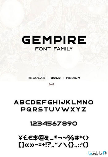 Gempire-Font