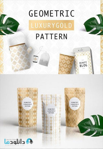 Geometric-Luxurygold-Patter