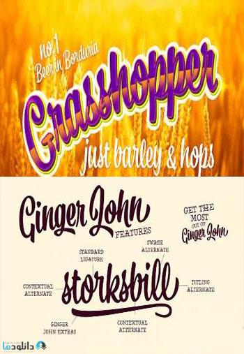 Ginger-John-Font-Family