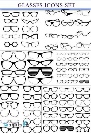 Glasses-icons-set-Icon